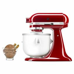 Ice Cream Maker Attachment For KitchenAid 5/4.5/3.5 Qt Quart