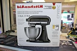 KitchenAid K45SSOB Tilt Head Stand Mixer 4.5 Quarts BLACK