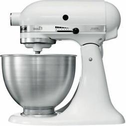 KitchenAid  White Tilt-Head Stand Mixer 4.5 Quart, NEW!