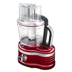 KitchenAid KFP1642CA Candy Apple Red Pro Line 16-cup Food Pr
