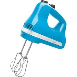 KitchenAid KHM512CL 5-Speed Ultra Power Hand Mixer, Crystal