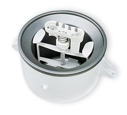 KitchenAid KICA0WH 2 Quart Ice Cream Maker Stand Mixer Attac