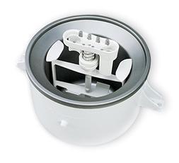 KitchenAid  KICA0WH 2 Quart Ice Cream Maker Stand Mixer Atta