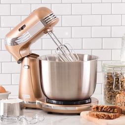 Kitchen Electric Food Stand Mixer with 6 Speed Stainless Ste
