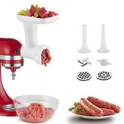 Kitchen Food Meat Grinder Sausage Stuffer Attachment For Kit