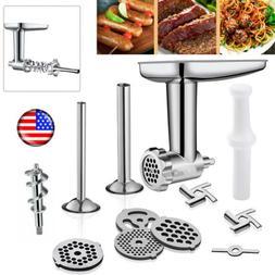 kitchen food meat grinder sausage stuffer attachment