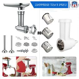 Kitchen Food Meat Grinder Slicer Shredder Attachment For Kit