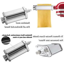 Pasta Roller Attachment For Kitchenaid Stand Mixer,Stainless