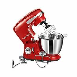 Kitchen Stand Mixer 350W 4.2qt Stainless Bowl 6 Speed w/ 4 D