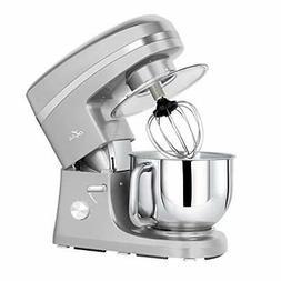 Litchi Kitchen Stand Mixer, 5.5 Qt. 650W 6-Speed Electric Mi