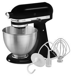 Kitchen Tilt-Head Stand Mixer, 4.5 Quart, Black Home Counter