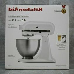 KitchenAid 4.5-quart Tilt Head Stand Mixer w/bowl with handl
