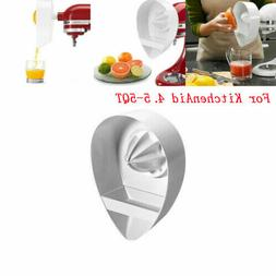 For KitchenAid Citrus Juicer Juicing Lemon Attachment Reamer Stand Mixer 4.5-5QT