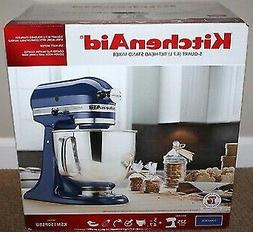 KitchenAid KSM150PS Artisan 5-qt. Stand Mixer, Cobalt Blue