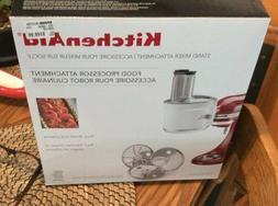 KitchenAid KSM1FPA Food Processor Stand Mixer Attachment, Br