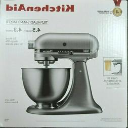 KitchenAid KSM75SL Classic plus Silver 4.5 Qt-Tilt Head Stan