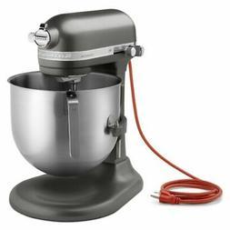 KitchenAid KSM8990DP Pewter 8 Qt. Commercial Stand Mixer