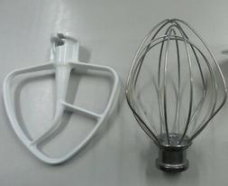 KitchenAid KSM90 Stand Mixer Wire Whip and Flat Beater Set G