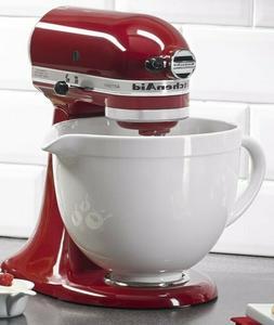 KitchenAid KSMCB5LW 5-Qt. Tilt-Head Ceramic Bowl - White Cho
