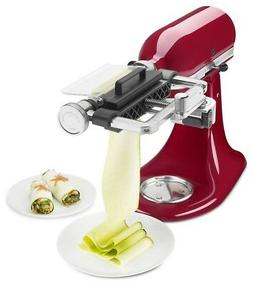 KitchenAid KSMSCA Vegetable Sheet Cutter 1 Metallic