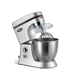 KWS M-B7 Commercial 620W Stand Mixer,7 Quarts Silver Heavy-D