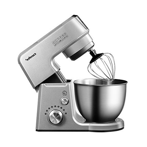 Comfee 7-in-1 Multi Function Stand Mixer SUS Mixing Whisk, Beater, Splash 7 Speeds