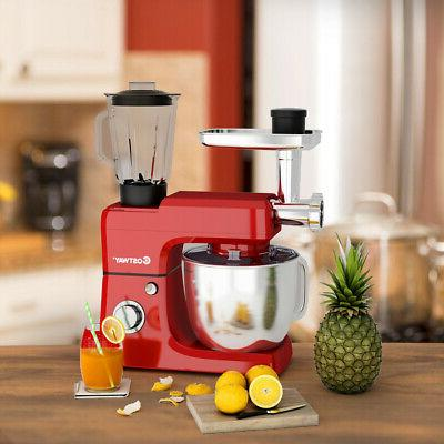 3 in 1 Multi-functional 800W Stand Mixer Home Grinder Blende