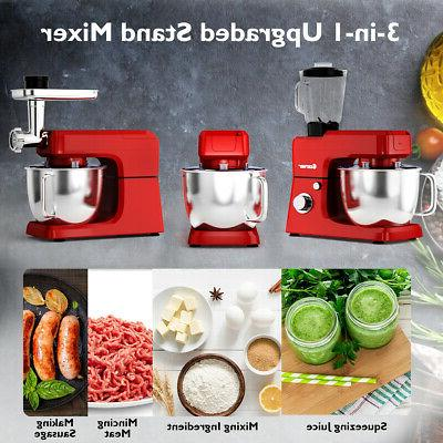 3 800W Stand Mixer Meat Grinder