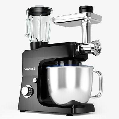 3 in 1 functional black stand mixer