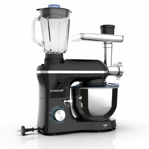 3 in 1 Stand Mixer 850W 6 Speed Tilt-Head Kitchen Mixer with