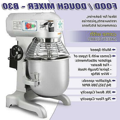 30 Stand Mixer Dough Blender Meat Speed