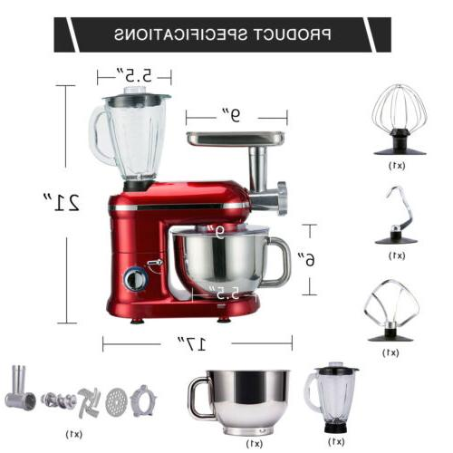 VIVOHOME Stainless Meat Grinder 6QT Speed