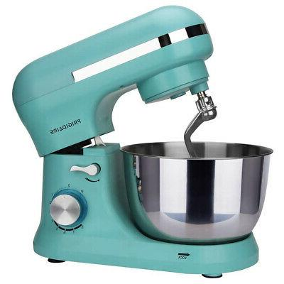 Frigidaire 4.5 Speed Electric Mixer w/Accessories, Blue