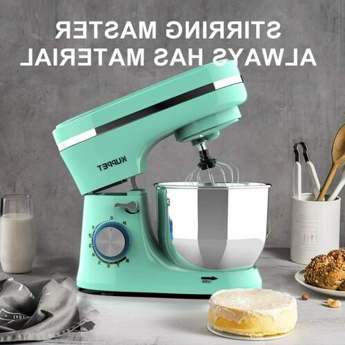 4.7QT Stand 380WN 8-Speed Tilt-Head Food Stand Mixer