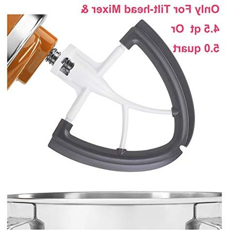 Gvode Flex Edge for Quart Tilt-Head Stand Blade with Edge Bowl