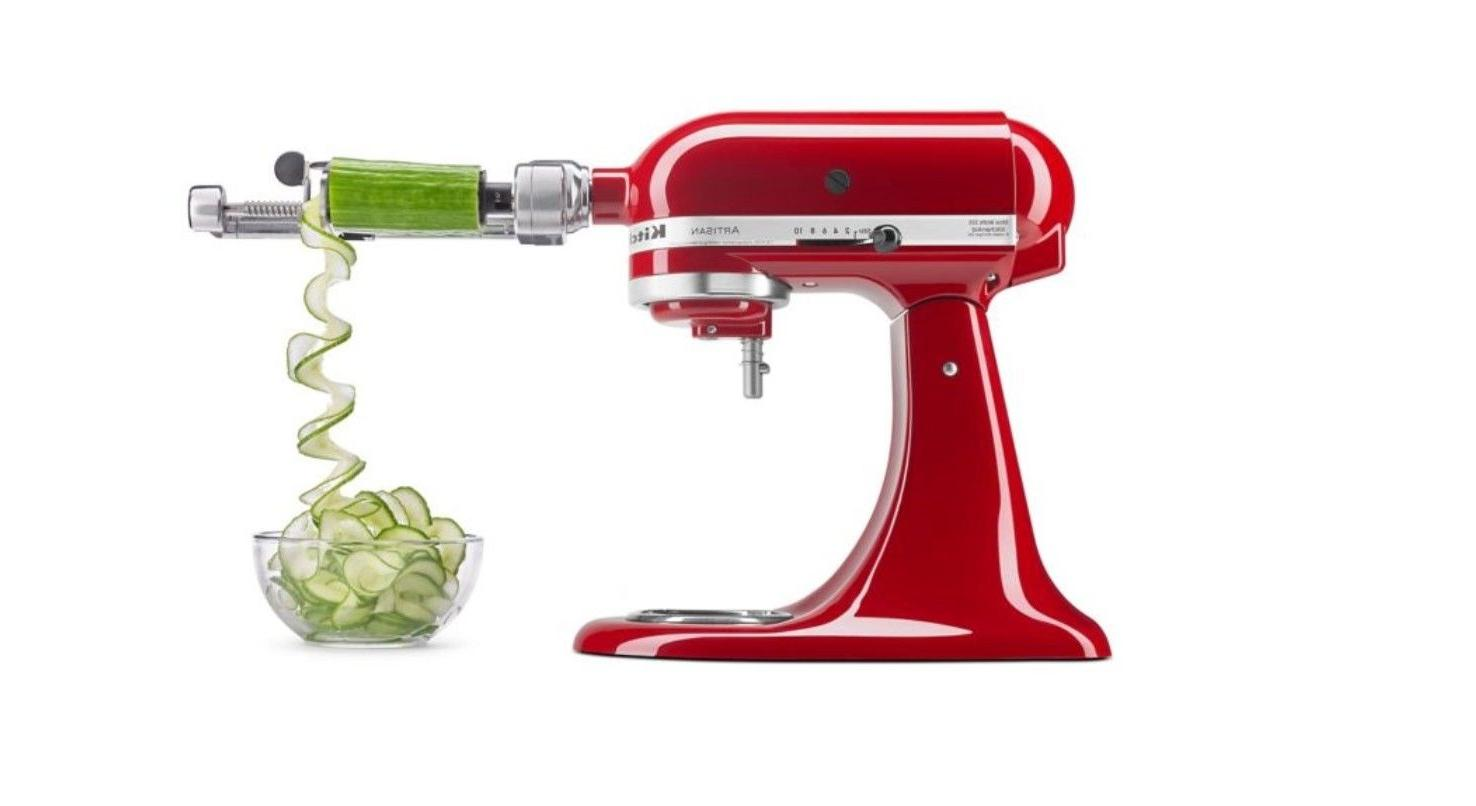 5 blade spiralizer with peel core