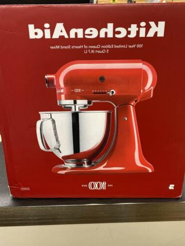5 qt 325w stand mixer 100 year