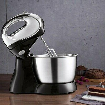 5 speed hand and stand mixer electric