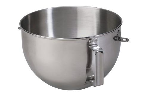 5qt polished stainless steel mixer