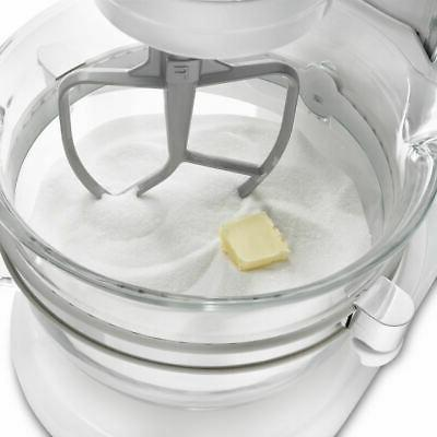 KitchenAid 6-Quart Design Bowl-Lift Mixer | Frosted Pearl