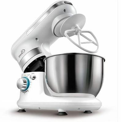 6-Speed 300 Watt Stand Mixer Includes Stainless Steel Bowl