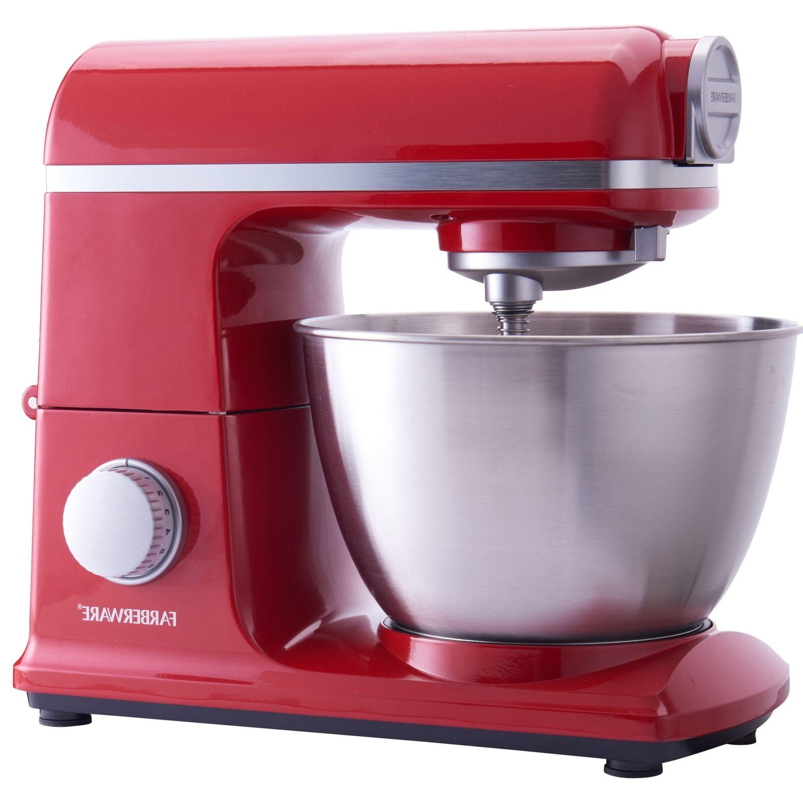 6 speed 4 7 quart red professional