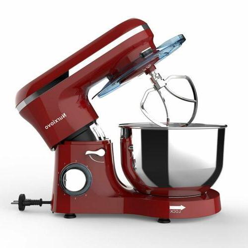 Food Stand Mixer 7QT Tilt-Head Stainless Steel Bowl 660W Ele