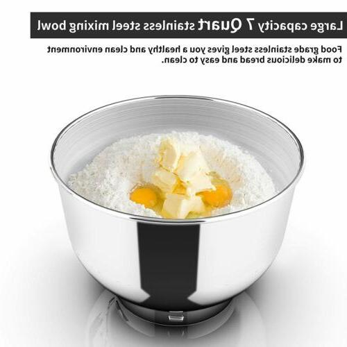 3 1 Stand Mixer Bowl 6 Speeds 850W Grinder Blender