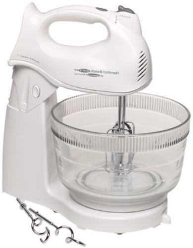 64695n power deluxe hand stand mixer