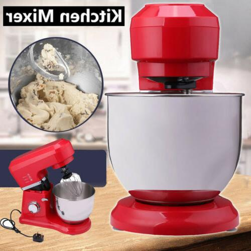 800w stand mixer food bowl electric whisk