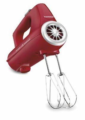Cuisinart - Powerselect 3-speed Hand Mixer - Red