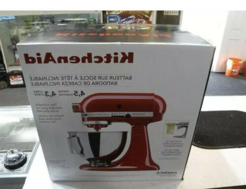 Kitchenaid - Ultra Power Tilt-head Stand Mixer - Red