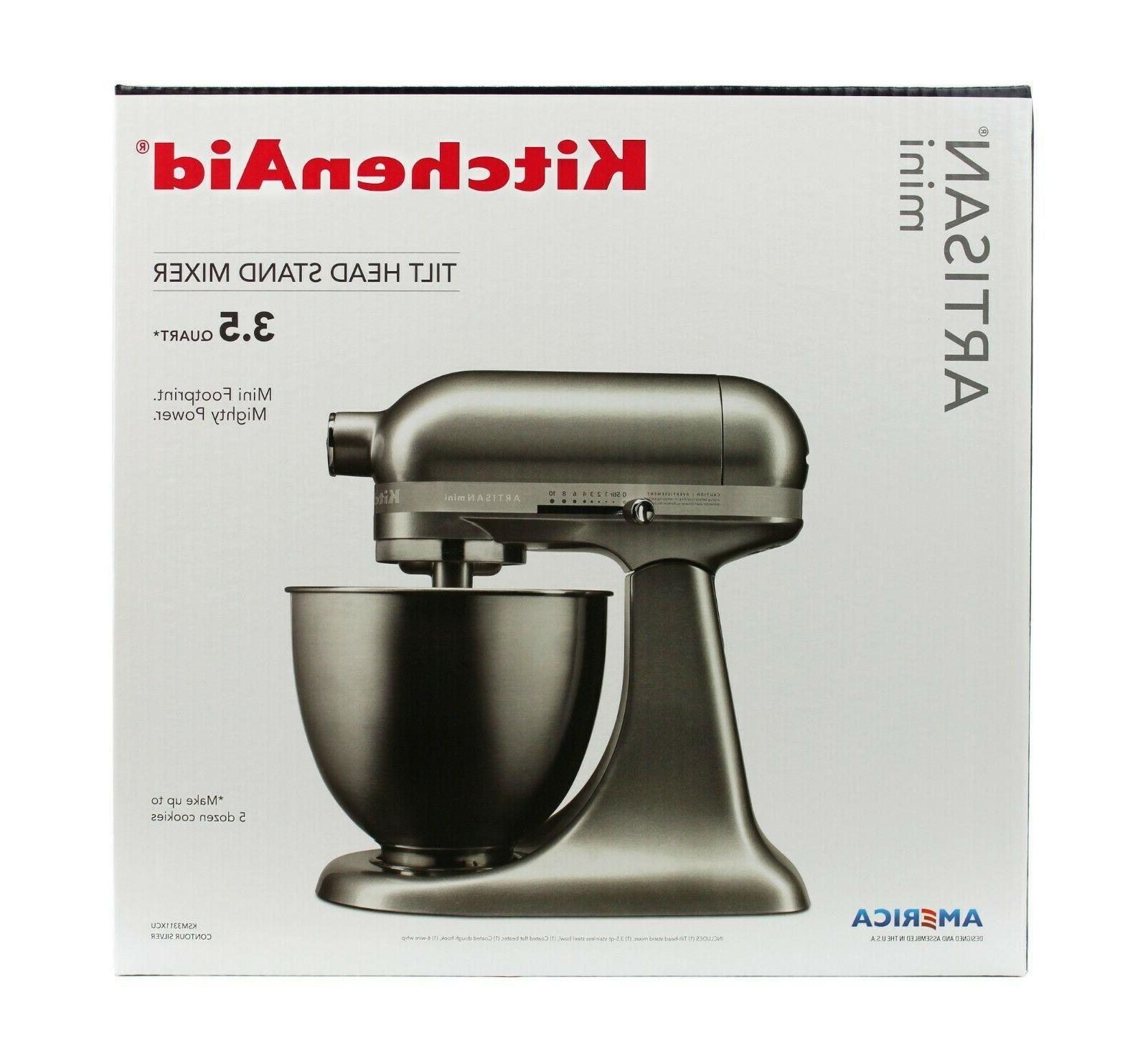 KitchenAid KSM150PSCU Tilt Head Stand Mixer Silver SHIP