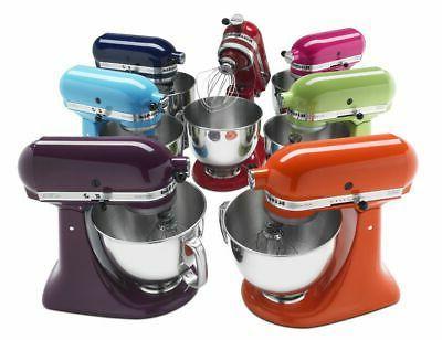 KitchenAid Artisan Tilt-Head Stand Mixer, 10 Speeds,